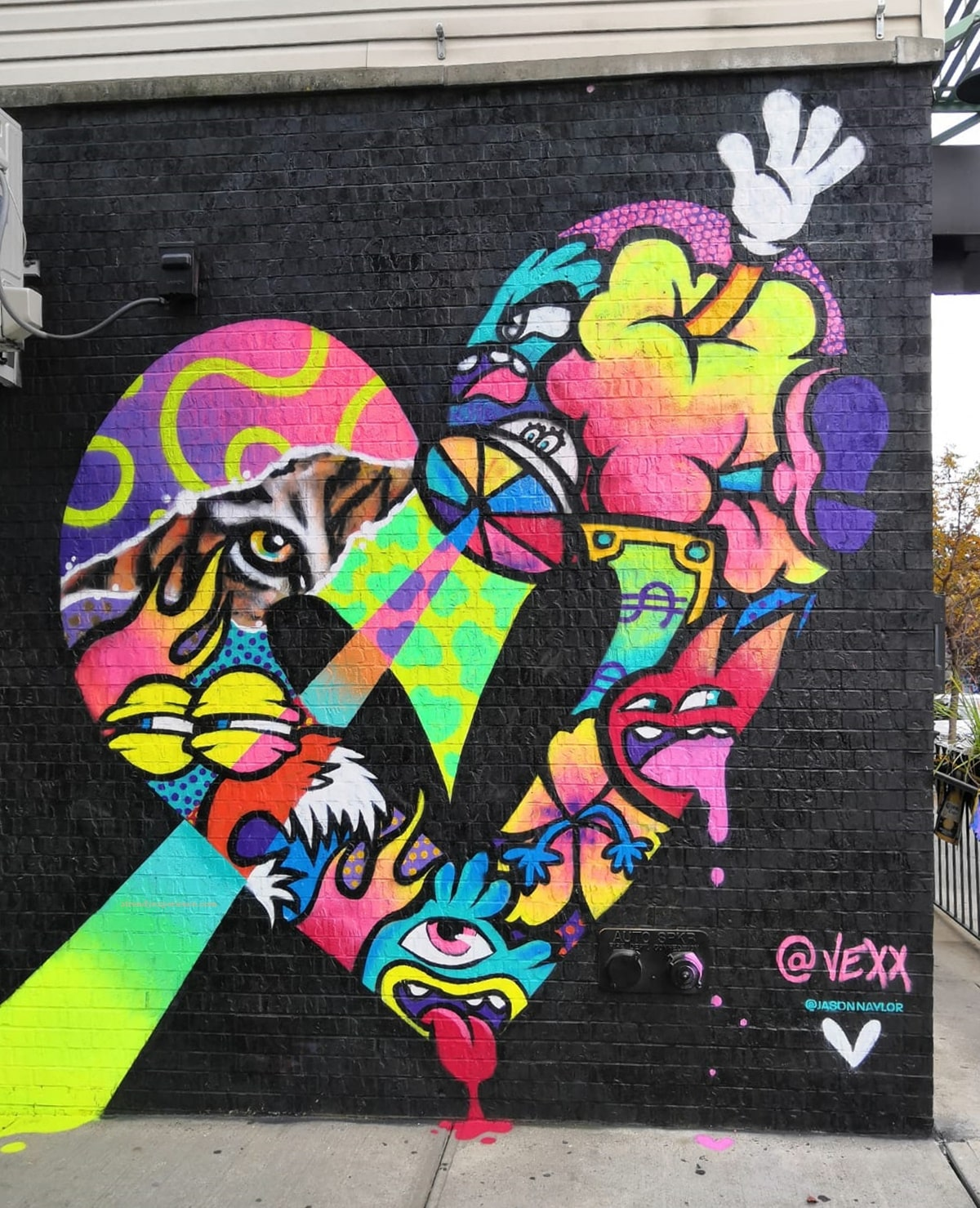 street art vexx brooklyn new york