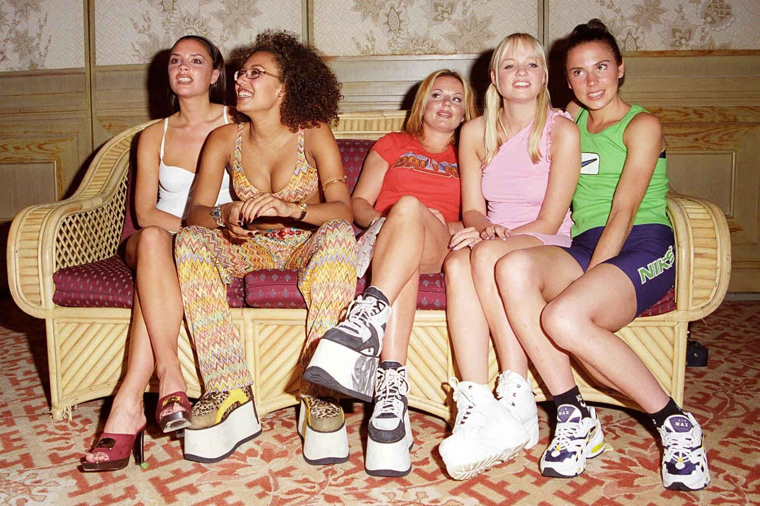 Spice Girl per Buffalo tendenze moda anni '90