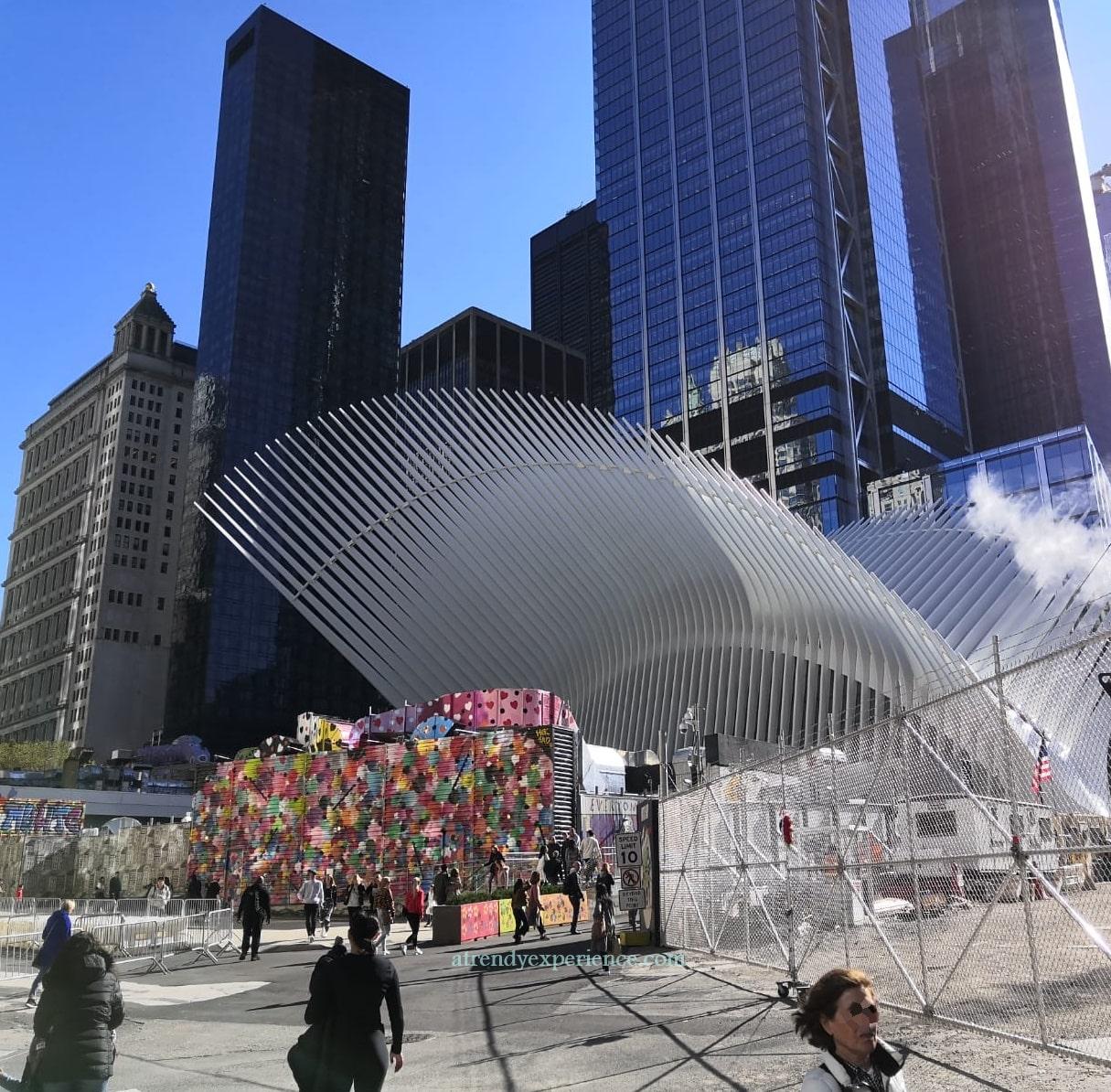 Oculus di Calatrava ingresso