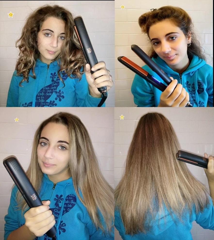ELCHIM 8th SENSE STYLER la piastra perfetta per tutti i tipi di capelli
