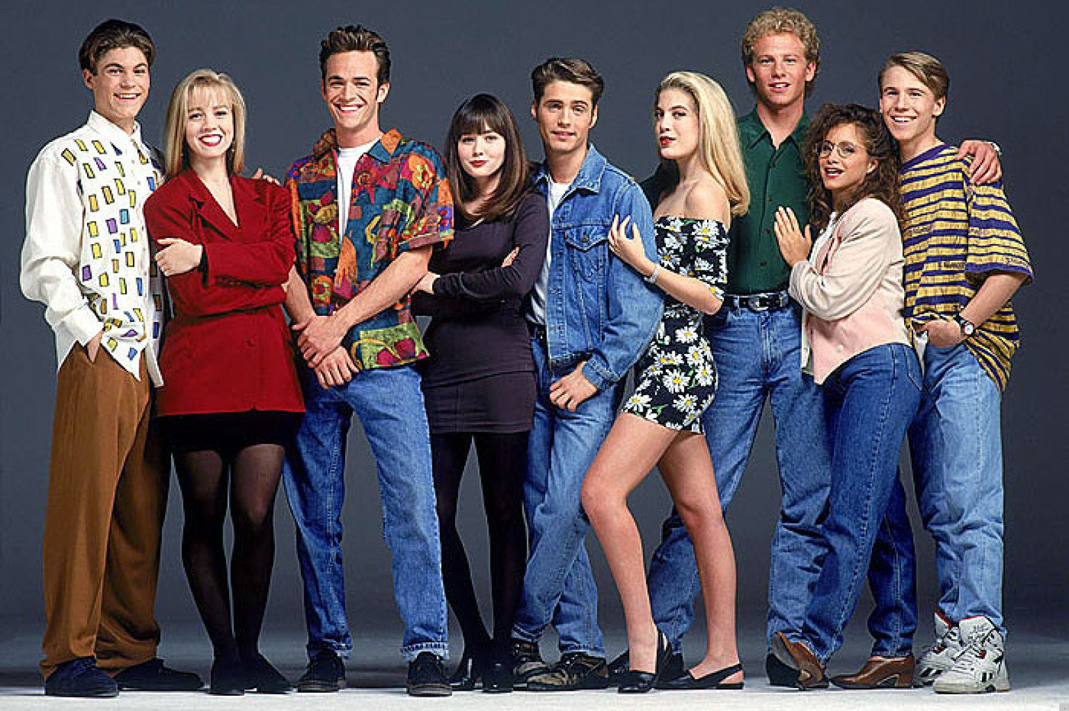Beverly Hills 90210 cast anni '90