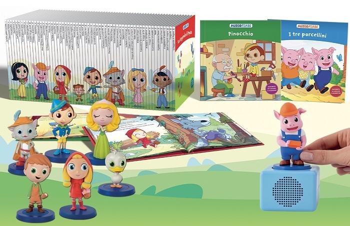 Audiofiabe la nuova collezione per bambini vi aspetta in edicola