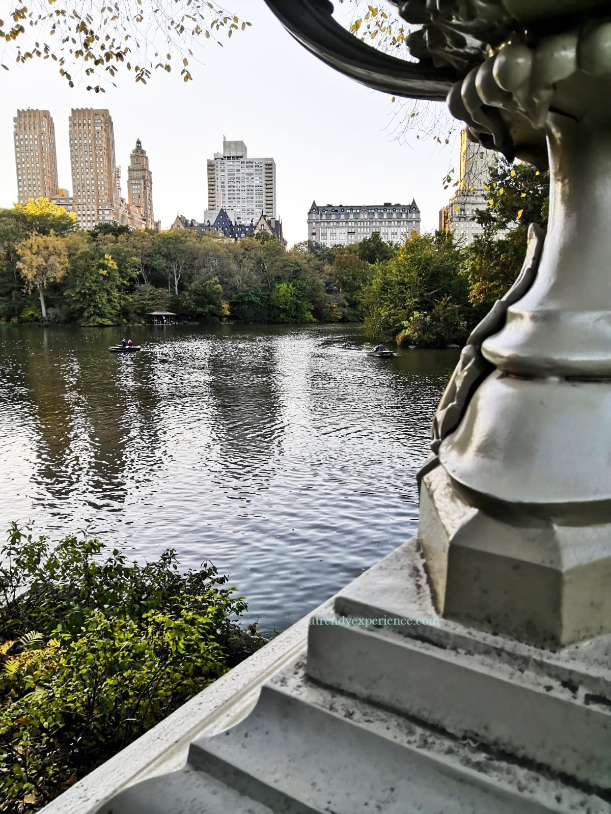 lago di Central Park, New York