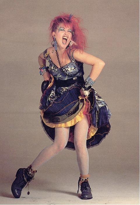 Cindy Lauper anni '80