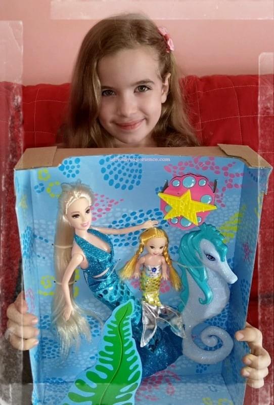 Bambola sirena il Mondo di Olly LOVE FANTASY