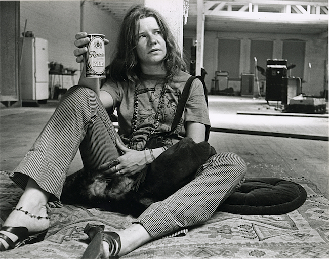 cantante hippie Janis Joplin