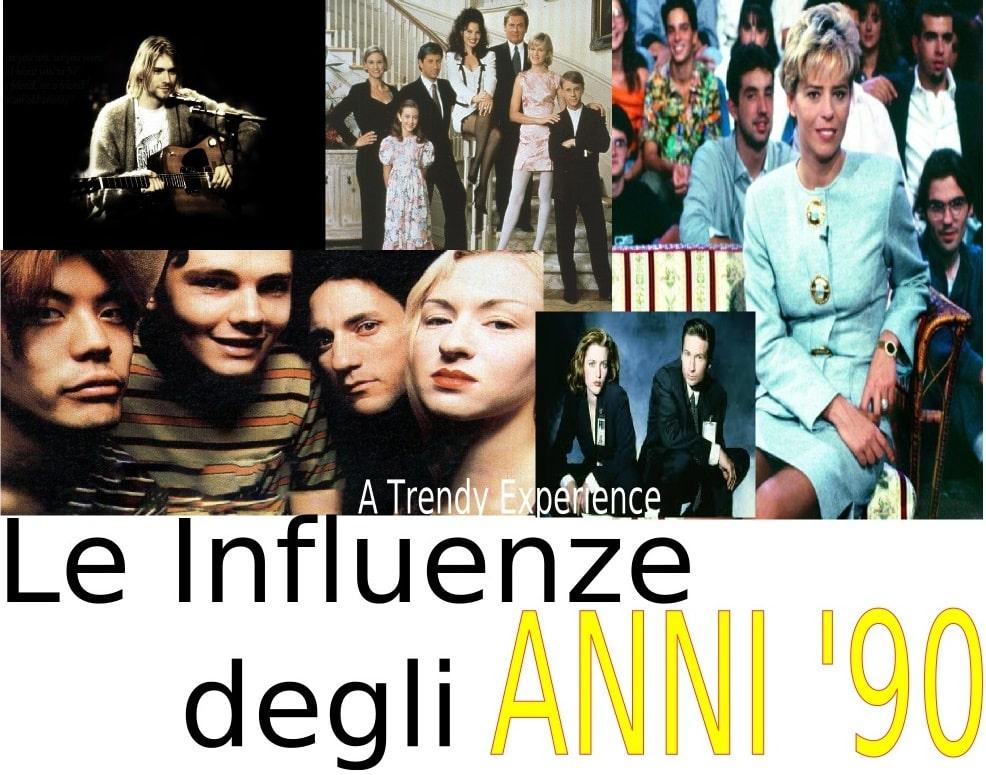 Gli anni '90, dalla televisione alla musica, le influenze del decennio ( secondo me )