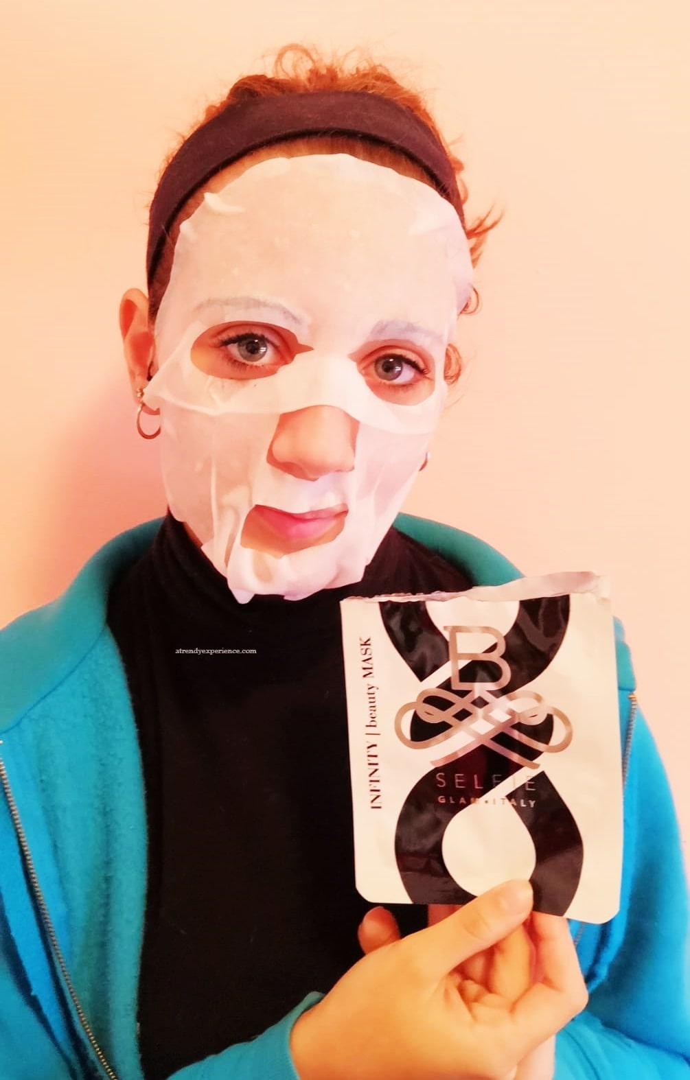 maschera B SELFIE INFINITY recensione