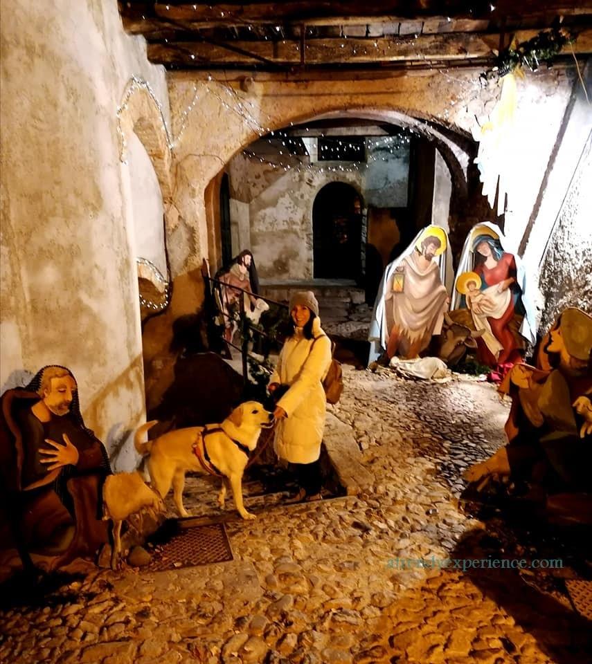 Santa Maria del Monte Natale 2019 con Lucia e Margot