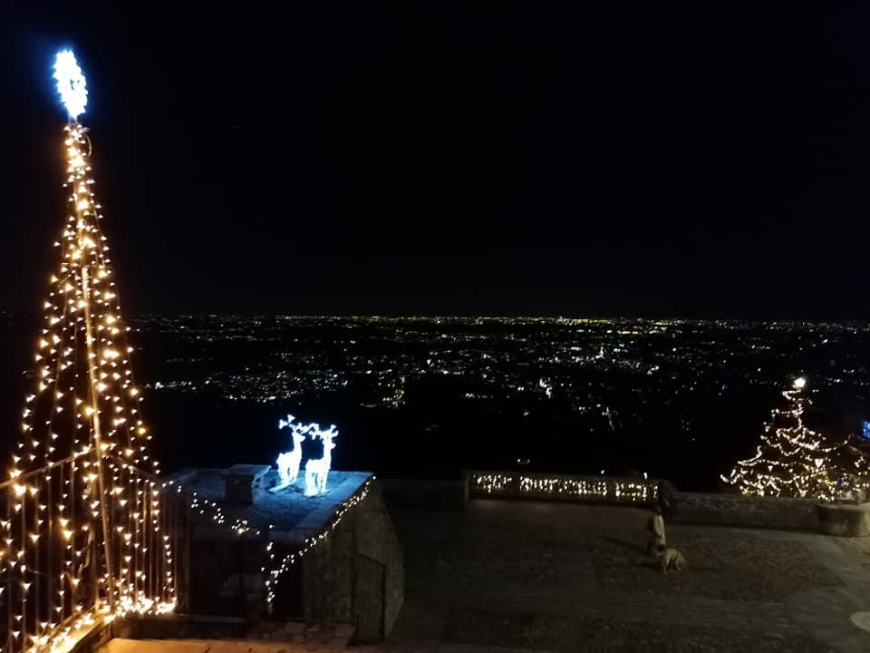 Veduta Sud da Santa Maria del Monte il giorno di Natale