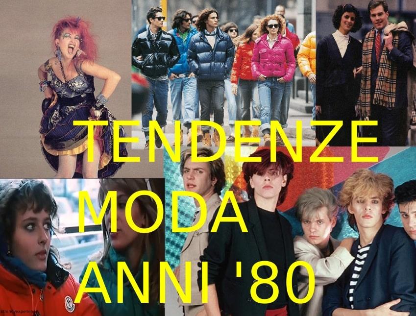 Moda anni '80, tendenze moda yuppie, paninari e squinzie