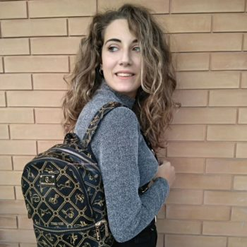 il mio nuovo zaino Giulia Pieralli come si indossa