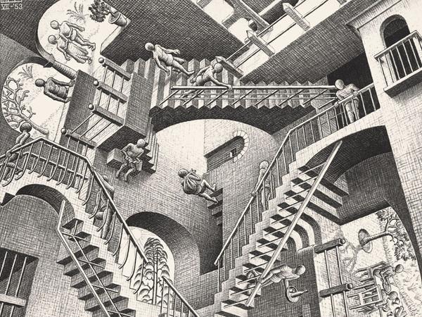 RELATIVITA' di Escher 1953