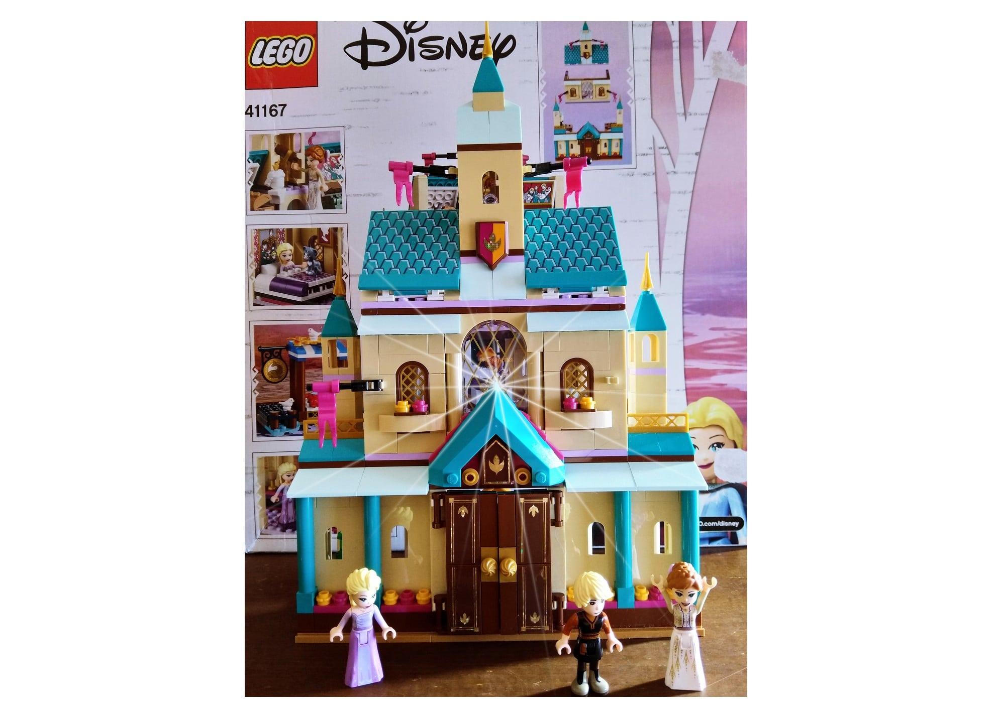 Il villaggio di Arendelle, Castello di Frozen Lego Disney
