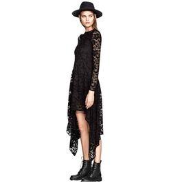 Vestiti in pizzo nero, idee su come indossarli