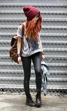Tendenze Moda: come vestire in stile Grunge