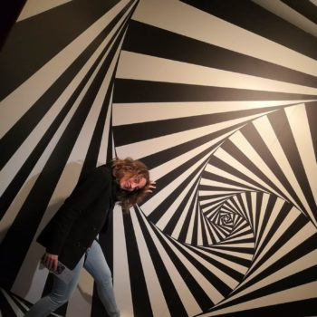illusione ottica di escher mostra trieste