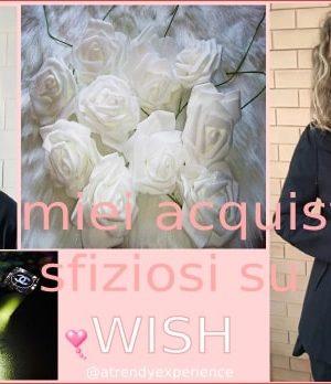 comprare su wish: i miei acquisti su wish
