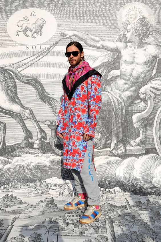Jared Leto icona di stile gender fluid, la moda unisex del futuro