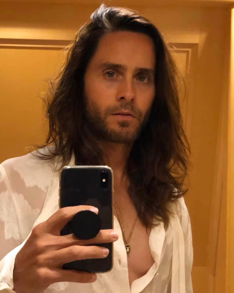 selfie jared leto icona di stile fluid gender
