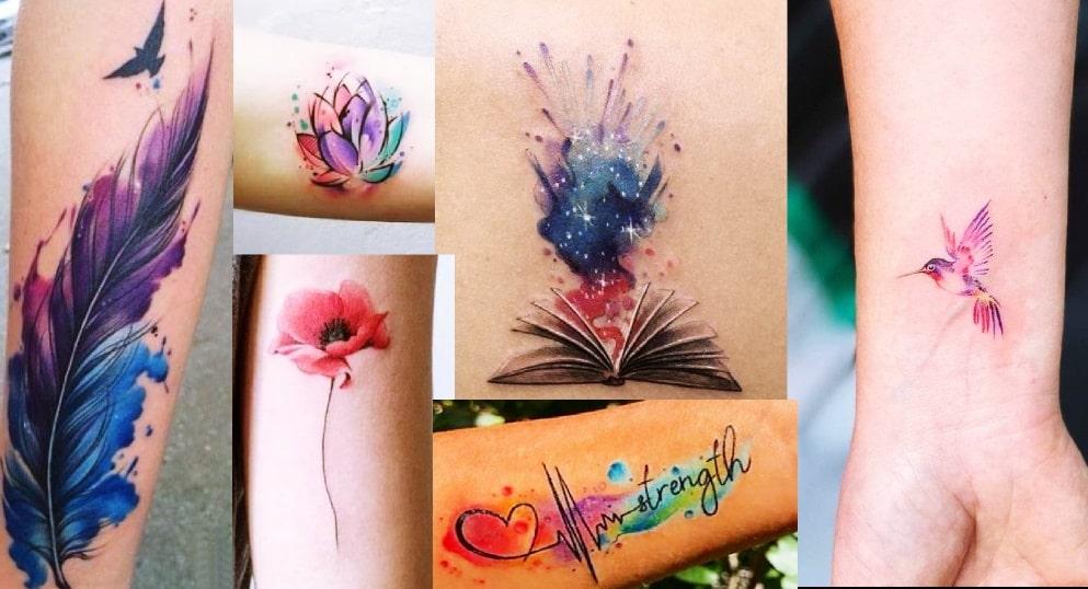 Tatuaggio Watercolor Tattoo, i soggetti preferiti, tecnica, esecuzione e consigli utili sulla durata
