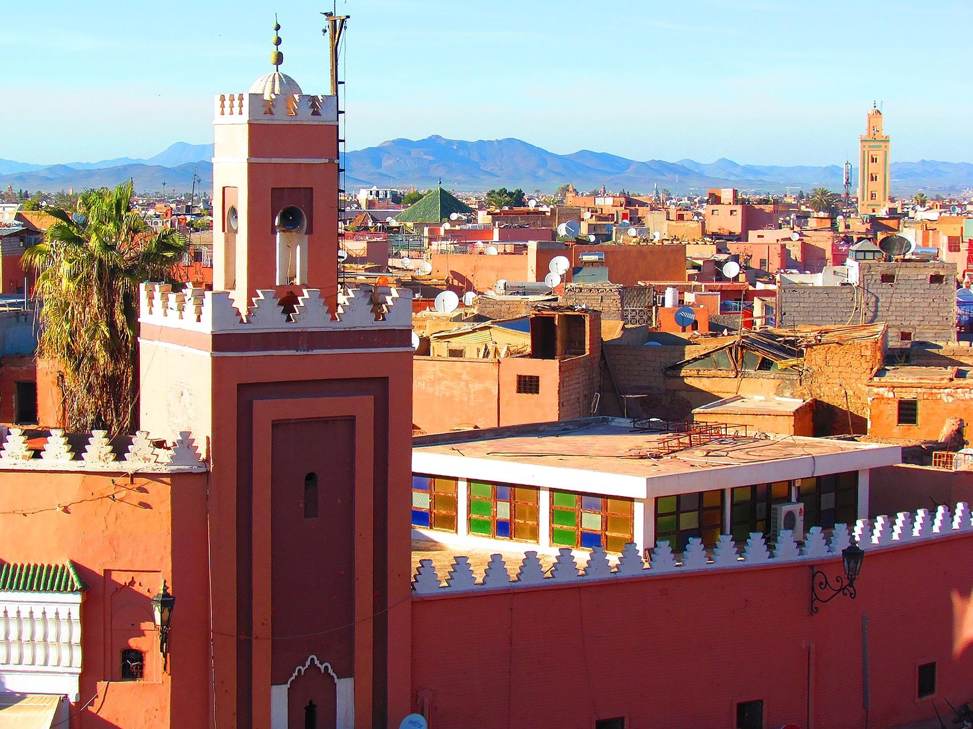 Marrakech Minareto