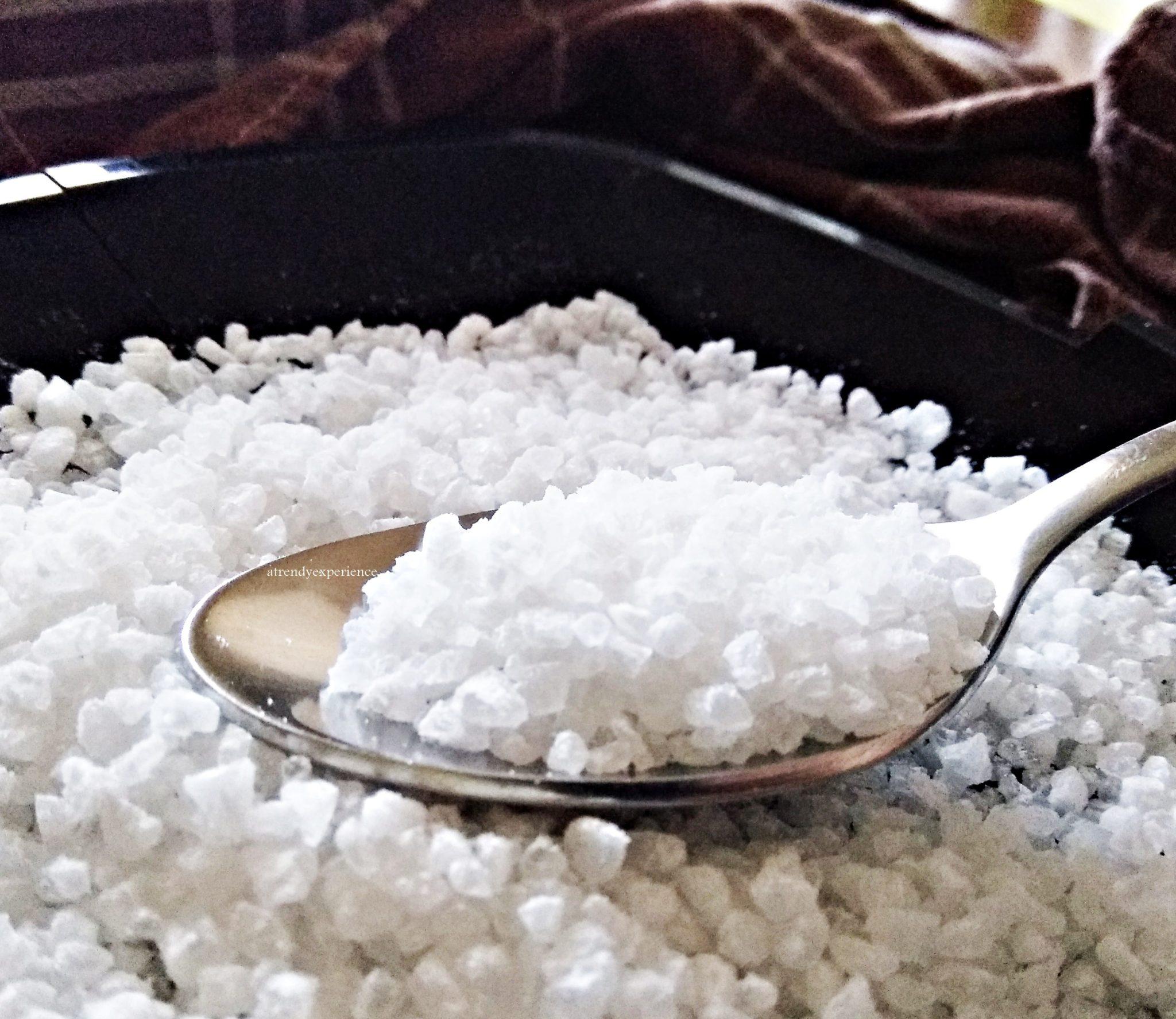 benefici e proprietà del sale grosso