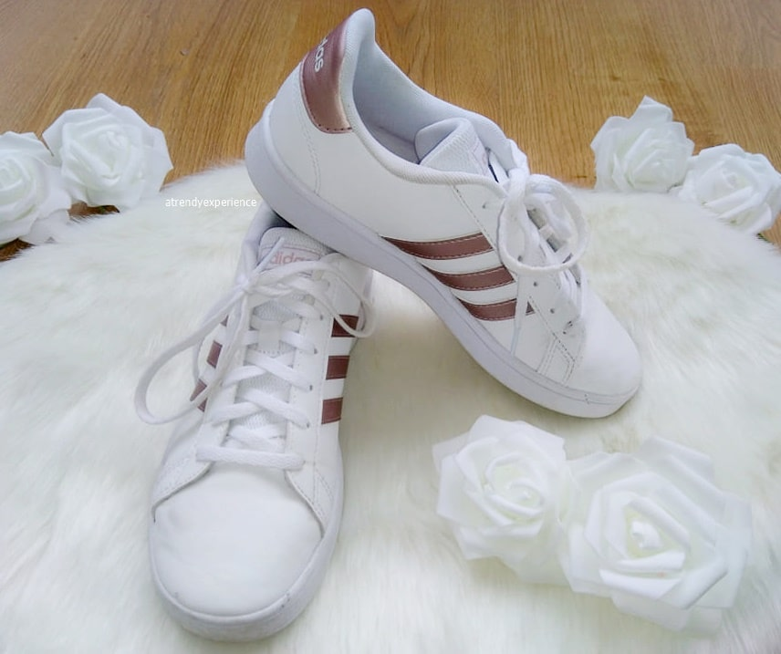 sneakers da sposa modello Grand Court K
