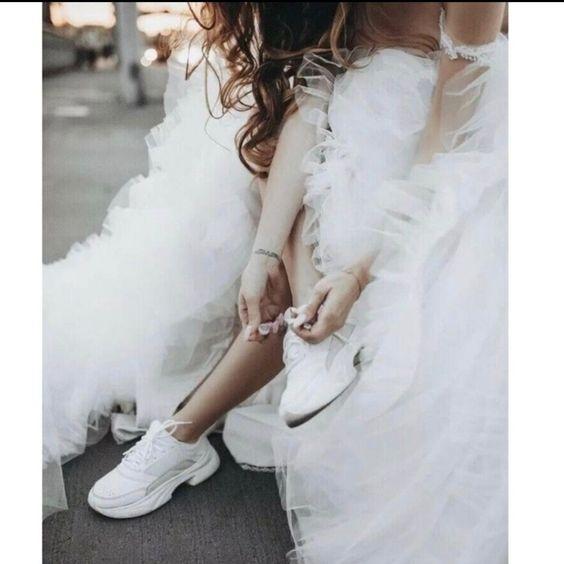 sneakers da sposa