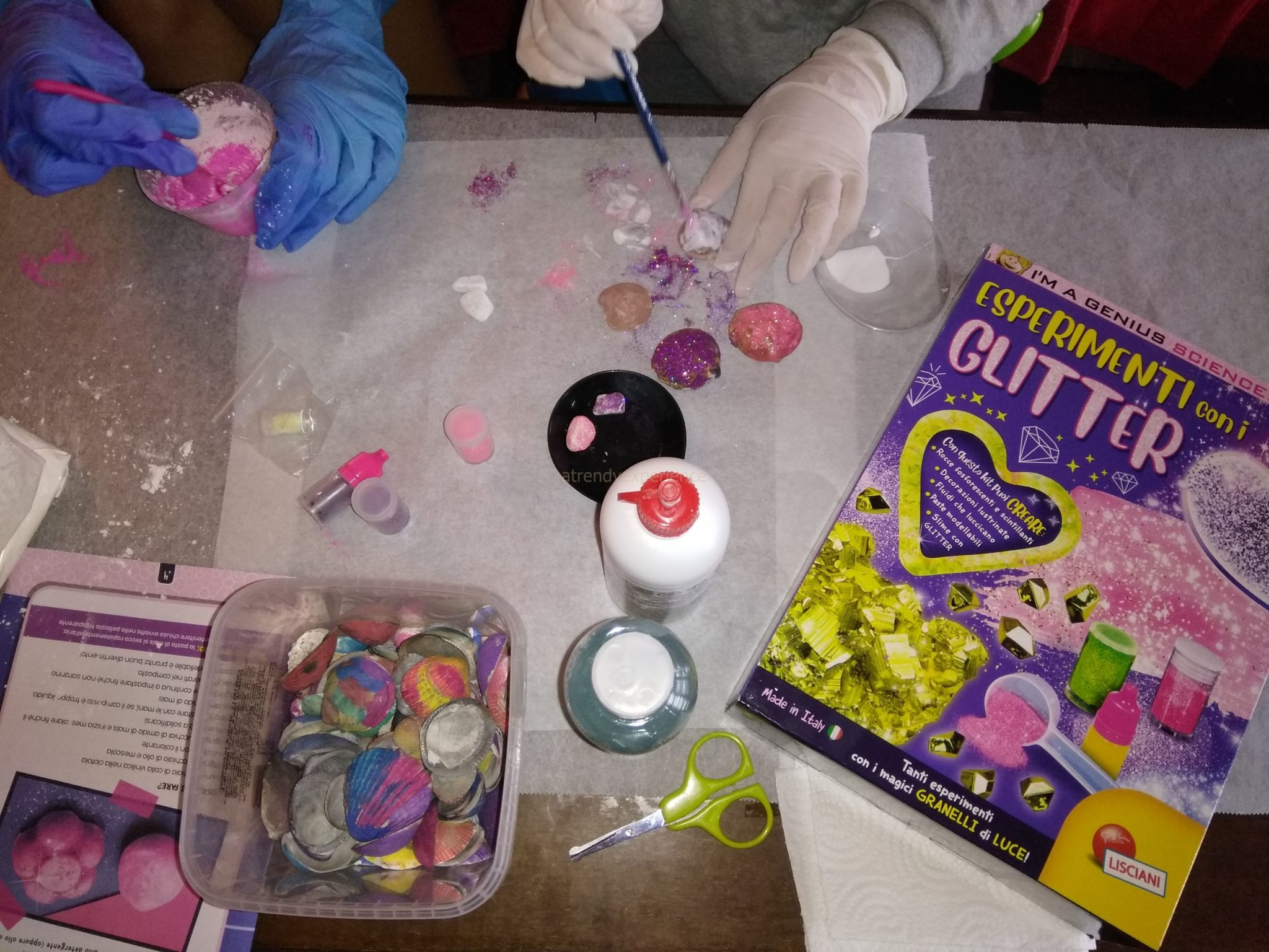 Esperimenti con i glitter Lisciani Giochi