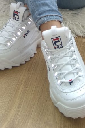 fila disruptor recensione sneakers