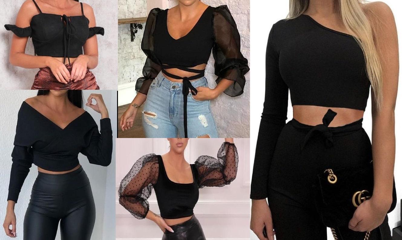 Tendenze moda: Crop top, la moda della pancia scoperta
