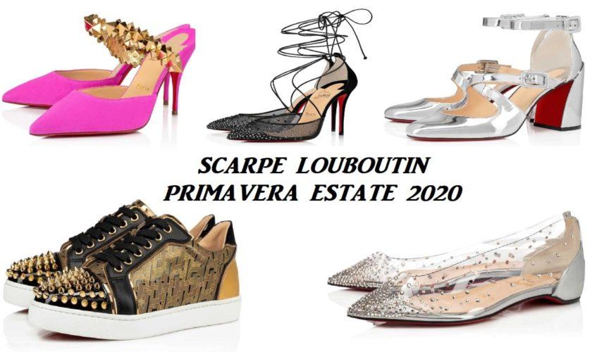 scarpe lpuboutin primavera estate 2020