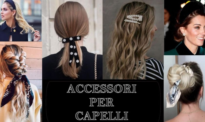 accessori per acconciature capelli 2020