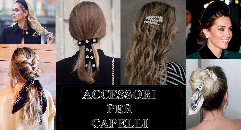 accessori per acconciature capelli facili e belle