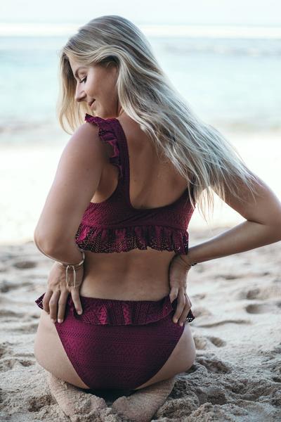 bikini mycharmo con balze