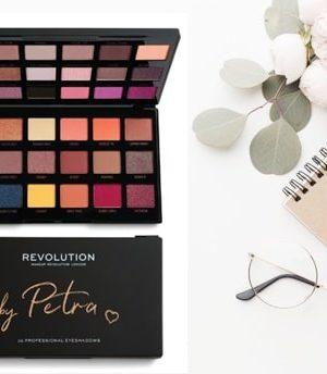 make up revolution by petra palette ombretti