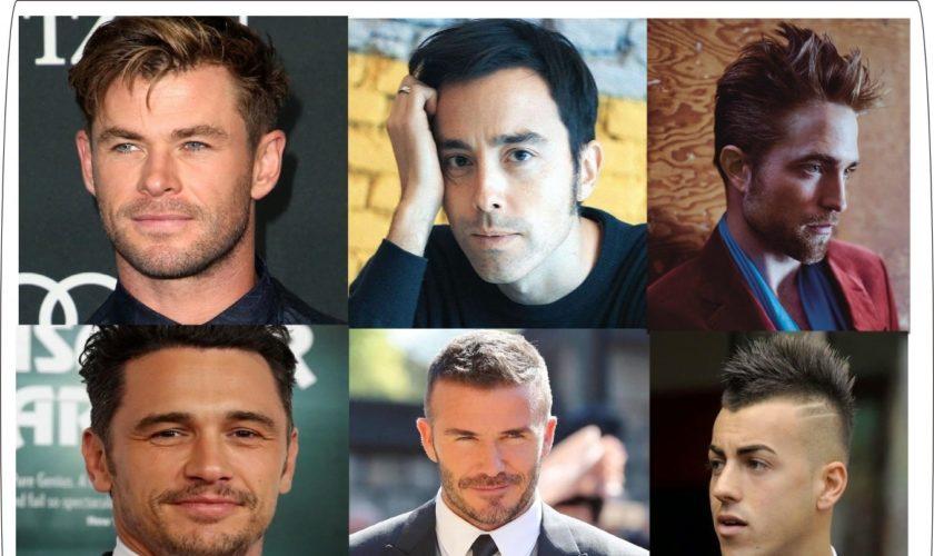 tagli di capelli uomo famosi 2020
