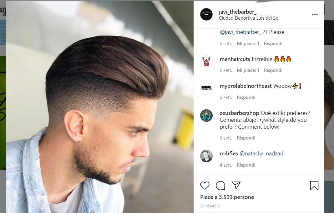 tagli capelli uomo 2020 javi the barber instagram