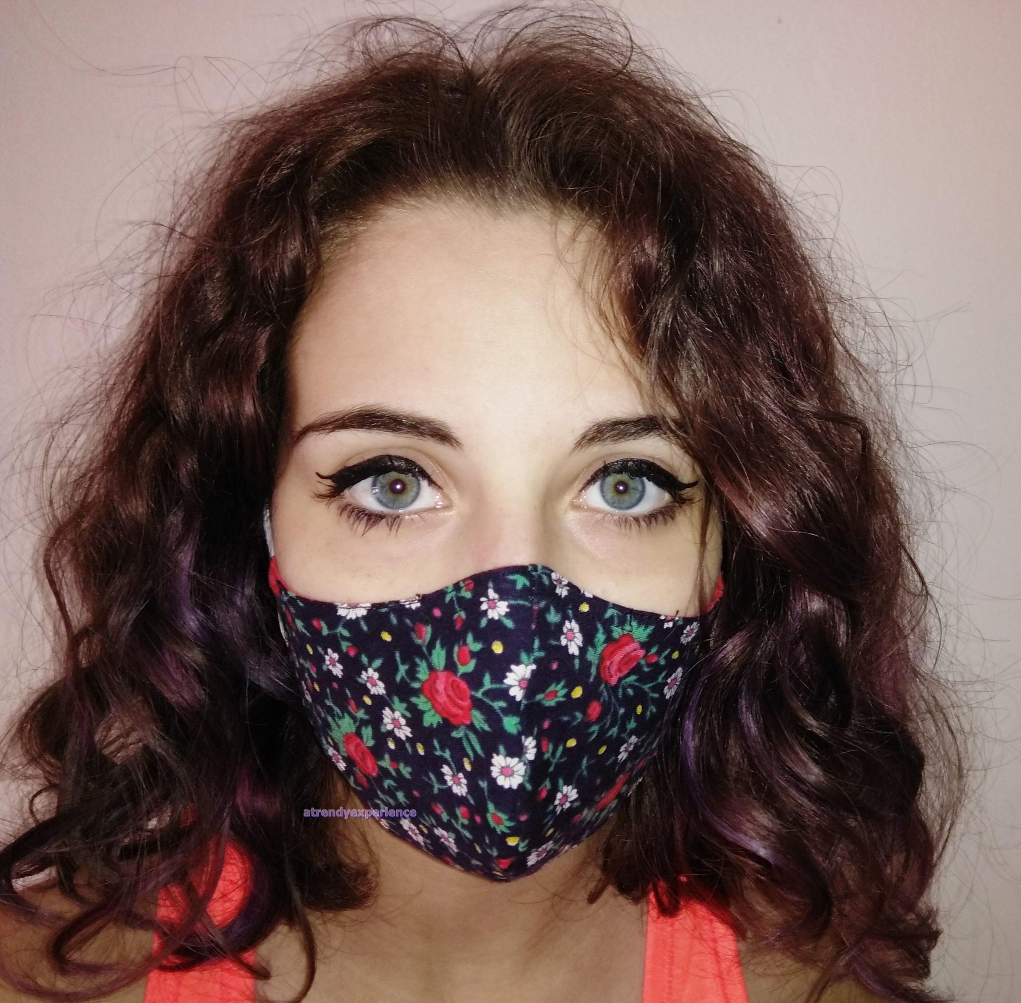 make up con mascherina di comunità