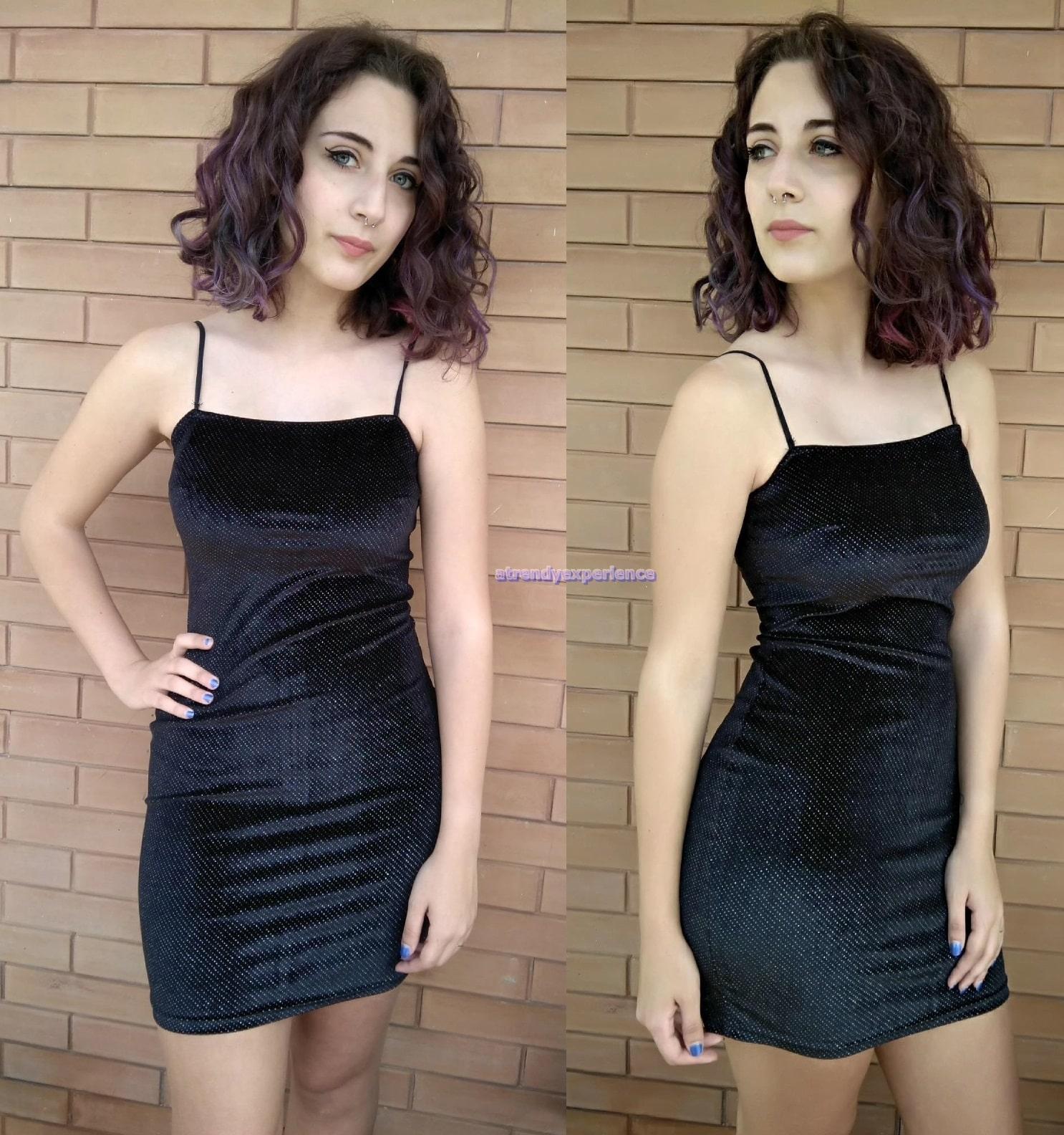 tendenze moda vestito corto da sera
