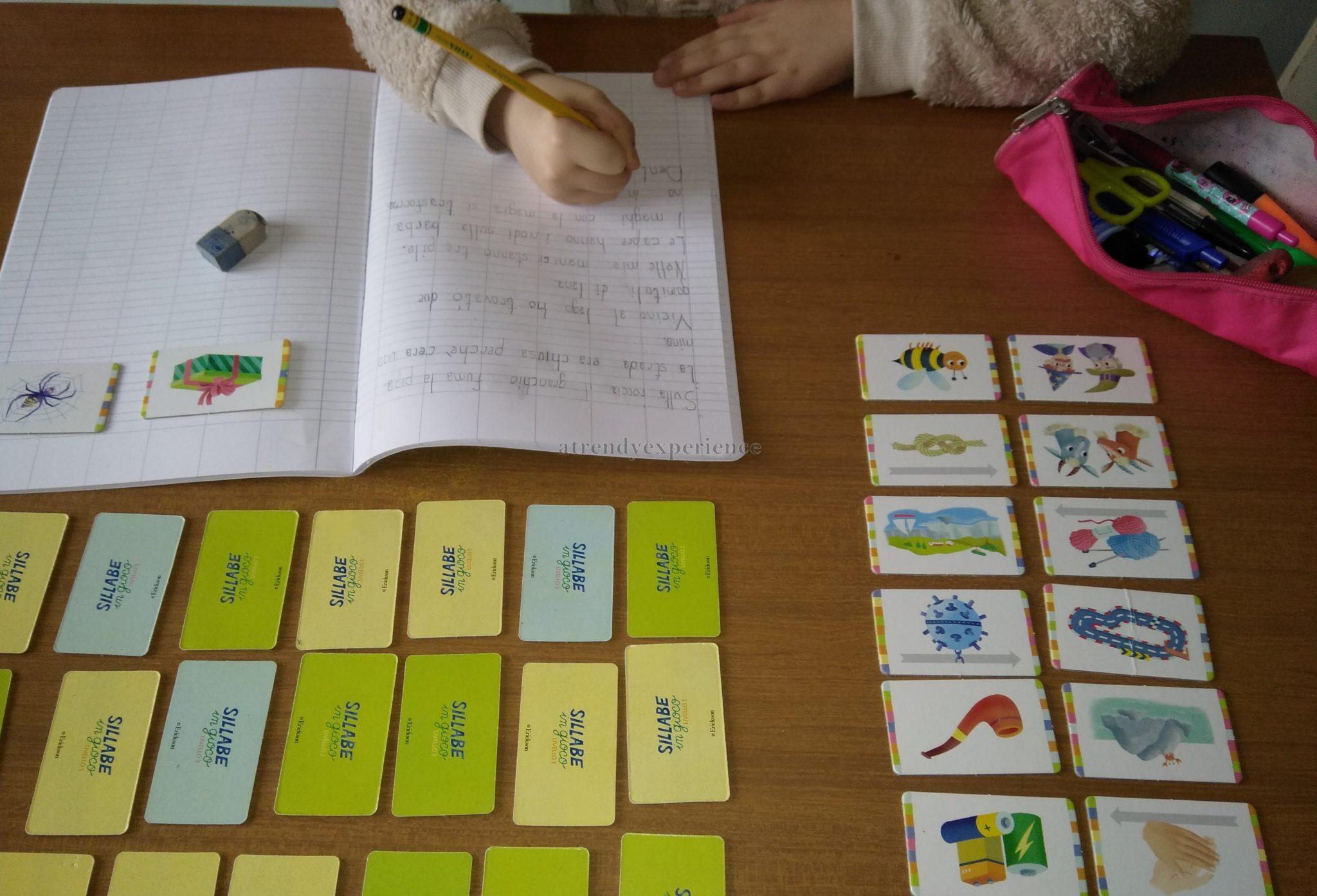 sillabario per imparare a scrivere