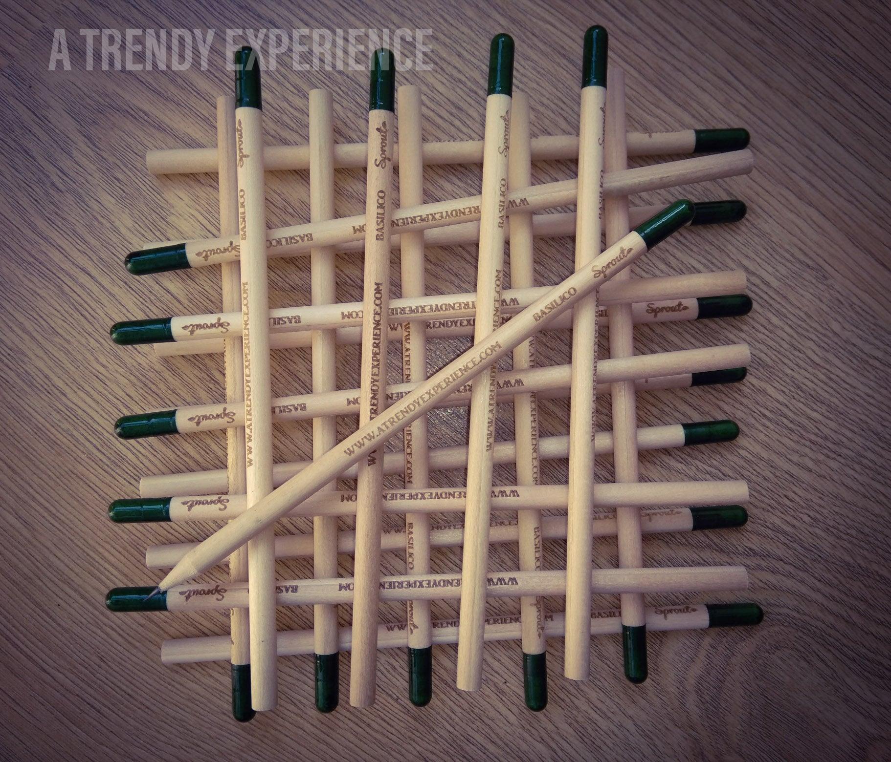 sprout matite da piantare personalizzate