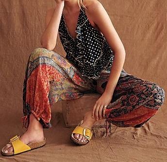 calzature birkenstock e boho style