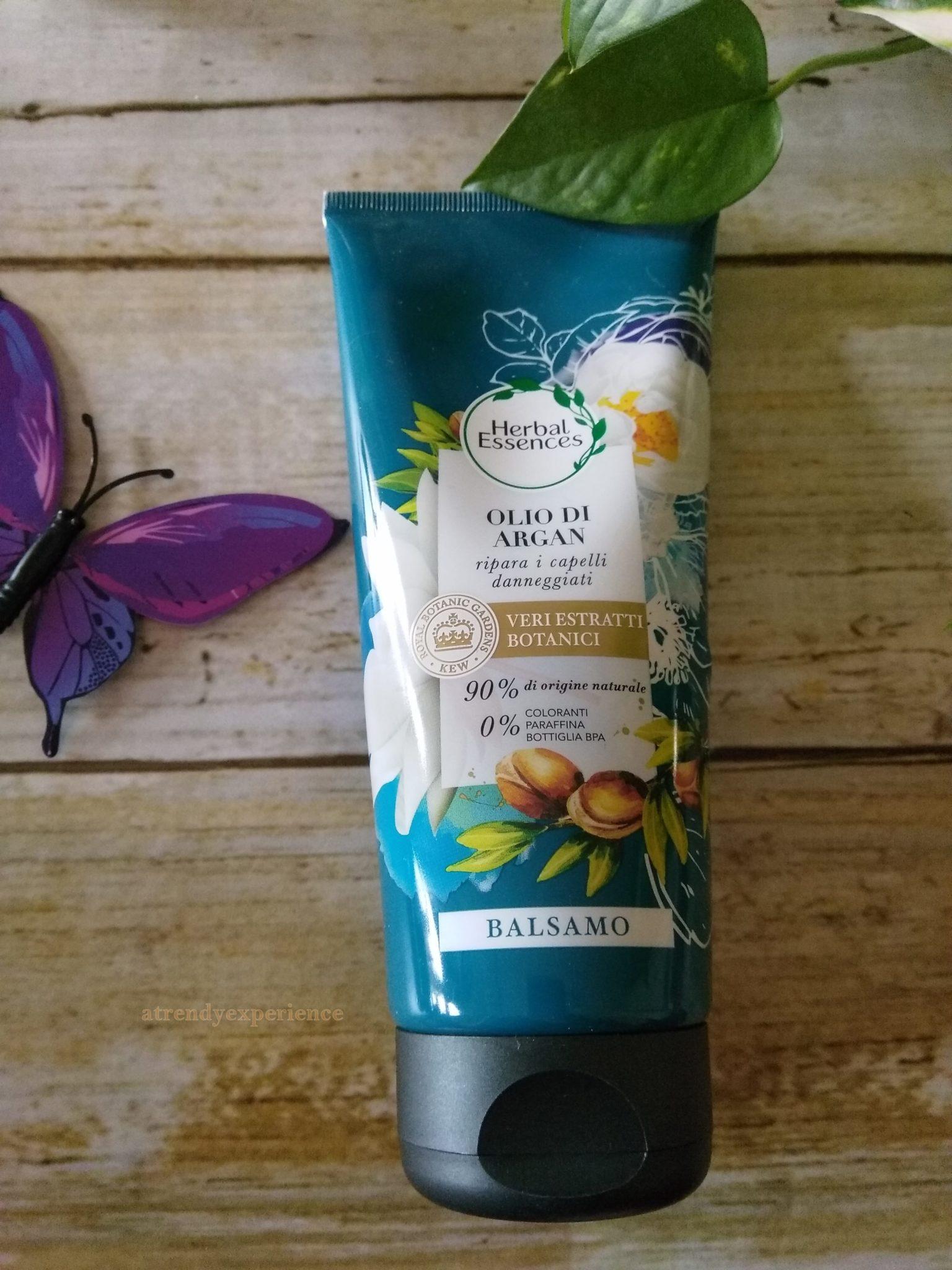 balsamo herbal essences olio di argan
