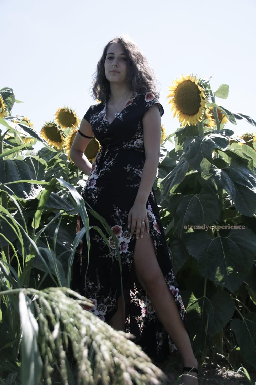 abbinare un vestito floreale