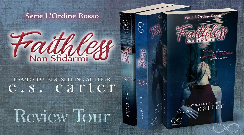 Faithless Non Sfidarmi di E.S. Carter, L'Ordine Rosso #3