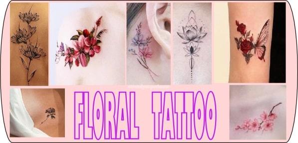 fiore tatuaggio i fiori di tendenza 2020