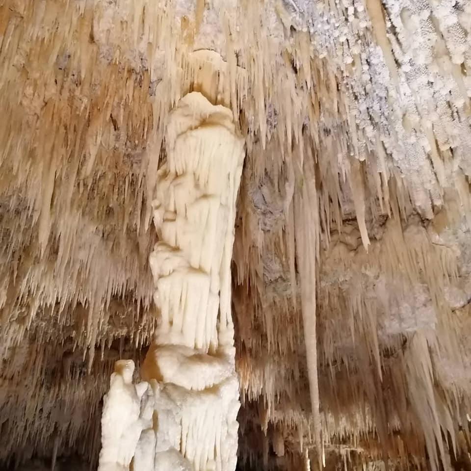 stalattiti e stalagmiti grotte di castellana