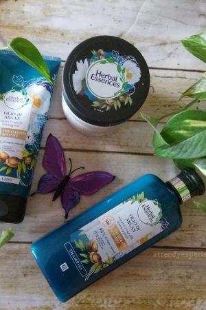 nuova linea Herbal Essences olio di argan